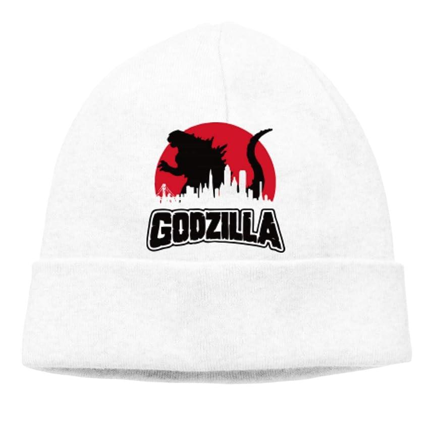 息を切らして悪因子独立してゴジラ Godzilla 未知の生き物 チ性抜群 通気性抜群 柔らかい 防風 無地 優れた弾力性 フェードしません 男性用と女性用のキャップ