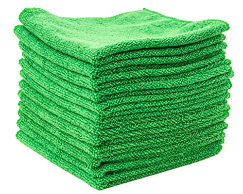 Dry Rite Best Magic Microfiber Cloth - Professional Series Cleaning Towels for Fine Auto Finishes,...