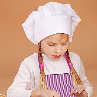 Juego De 10 Chefs Para Niños, Juego De Cocina Con Delantal Para Niñas, Gorro