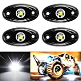 Amak 4 Pods LED Rock Light Kit...