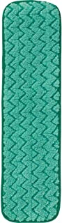 Rubbermaid Commercial FGQ42400GR00 HYGEN Microfiber Hall Dust Mop Pad, Dry, Single-Sided, 24-inch, Green