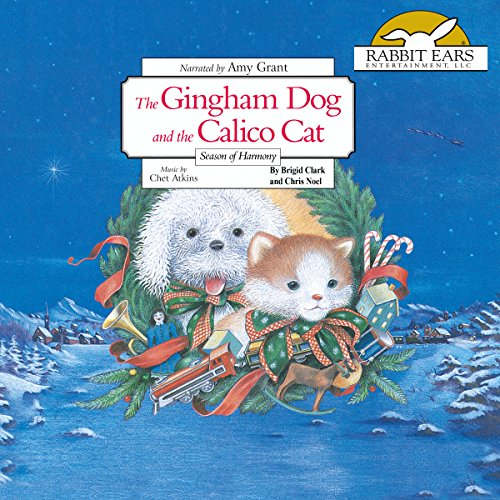 The Gingham Dog and the Calico Cat audiobook cover art