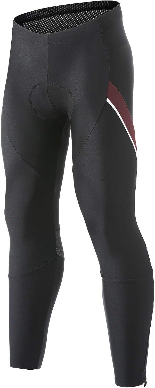 Santic unisex Sales Men's Cycling Tights 4D Thermal Bike Pants Padded Fleeced