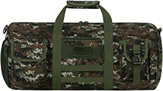 East West U.S.A RTDC704L Tactical Digital Camo Heavy Duty Round Duffel Bag