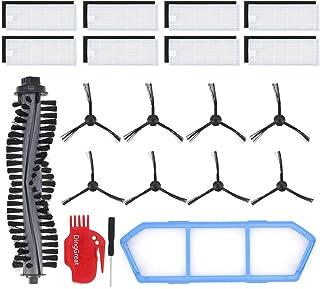 DingGreat Kit Accesorios de Recambio para ILIFE A4s Aspirador Piezas de Repuesto Incluye 1x Cepillo Principal, 8X filtros,...