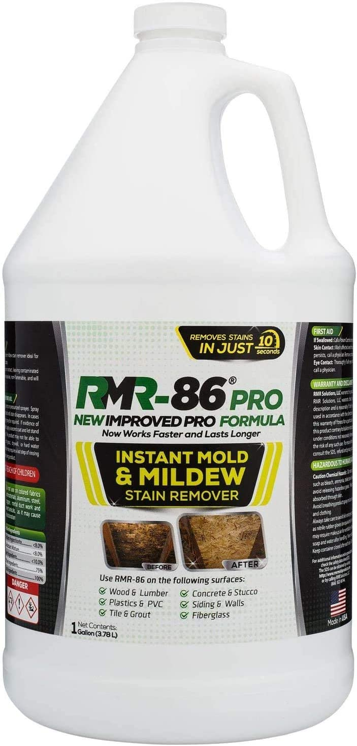 RMR-86 Pro Instant Mold Stain 当店一番人気 Remover Mildew - 送料0円 Contracto