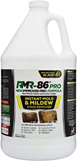 RMR-86 Pro Instant Mold Stain & Mildew Stain Remover - Contractor Grade Cleaning Solution, Professional Quality Formula, O...