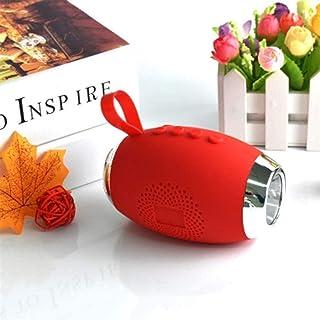KJRJLY Flashlight Bluetooth Speaker Wireless Bluetooth Speaker Outdoor Phone Bluetooth Speaker Computer Intelligent Multifunction Lighting Amplifier