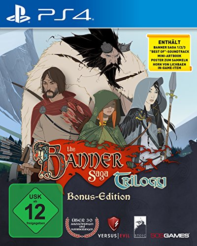 The Banner Saga Trilogy (PlayStation PS4)