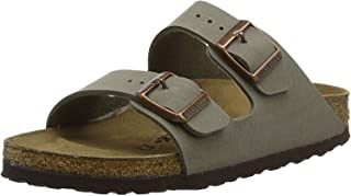 Birkenstock Arizona, Men's Fashion Sandals, Grey (Stone), 44 EU