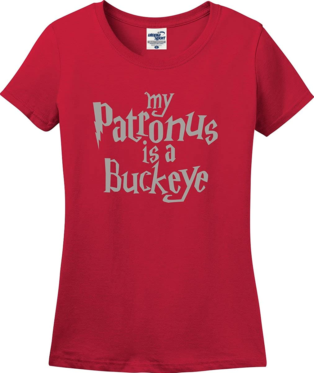 A Buckeye is My Patronus Beauty products Ladies Missy Ranking TOP18 S-3X Fit T-Shirt
