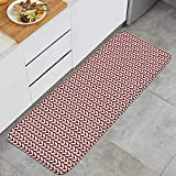 PANILUR4 Christmas Eve Crackers Claus Non-Slip Kitchen Mat Rug Washable Absorbent Outdoor Doormat