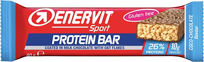 Enervit Sport Protein Bar Chocolate Coconut 25 x 40g Estimated Price : £ 58,00