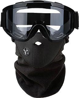 【H&Co.select】クリアーレンズ ゴーグル フェイスマスク セット 耐衝撃