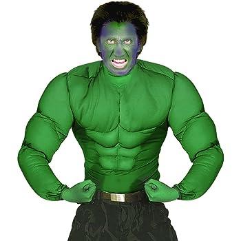 Disfraz de superhéroe Hulk costume muscular de cómic de ...