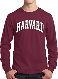 New York Fashion Police Harvard University Long Sleeve T-Shirt - Officially Licensed