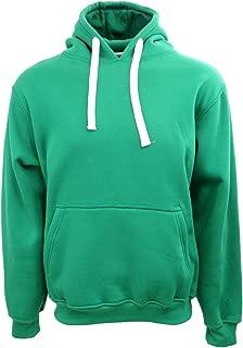 Men's Hipster Hip Hop Basic Fleece Heavyweight Pullover Hooded Sweatshirt