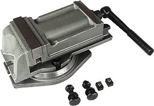 Precision Milling Lathe Machine Vise + Swivel Base, Heavy Duty (5
