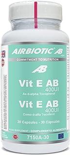 AIRBIOTIC Vitaminas Vit E AB 400UI. 30 cápsulas