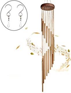 SuninYo Wind Chimes Outdoor,36 inches Wind Chimes with S Hook,a Quality Gift for Garden,..