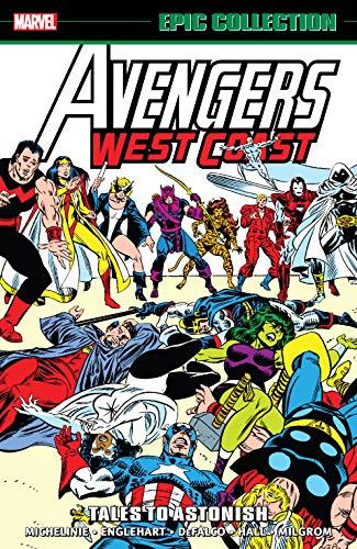 Avengers West Coast Epic Collection: Tales To Astonish (Avengers West Coast (1985-1994)) (English Edition)