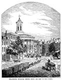 Philadelphia 1854 Na View Of The Philadelphia Exchange