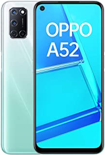 "OPPO A52 - Smartphone de 6.5"" FHD+, 4GB/64GB, Octa-core, cámara trasera 12 + 8 + 2 + 2 MP, cámara frontal 8 MP, 5.000 mAh, Android 10, color Blanco"