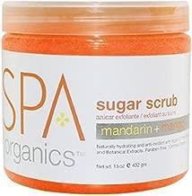 BCL Spa Mandarin and Mango Sugar Scrub, 16 Ounce