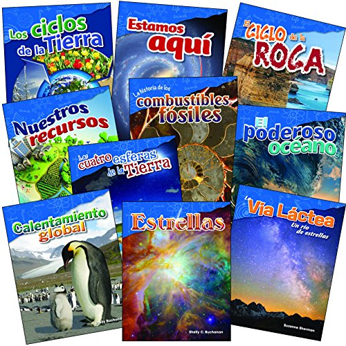 Compare Textbook Prices for Let's Explore Earth & Space Science Grades 4-5 Spanish Set Science Readers: Content and Literacy Spanish Edition 1 Edition ISBN 9781425824938 by Teacher Created Materials