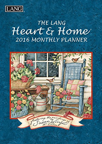 Lang Heart and Home 2016 Monthly Planner by Susan Winget, January 2016 to March 2017, 8.25 x 12 Inches (1012098)