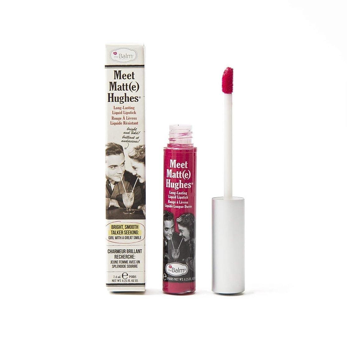 ペレット列挙するアンカーザバーム Meet Matte Hughes Long Lasting Liquid Lipstick - Sentimental 7.4ml/0.25oz並行輸入品