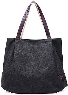 Yiwjby Four Seasons Wilde Damen Segeltuch Handtasche koreanischen beiläufige große Kapazitäts Stadtstreicherin Beutel Mode Exquisite Taschen