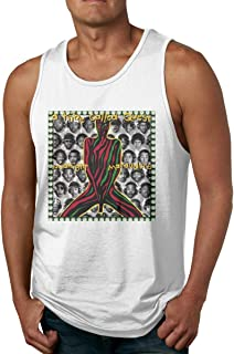 Macwe Men's Hiking Sleeveless Tank Top A Tribe Called Quest Midnight Marauders Sweat-Absorbing Shirts Vest Top
