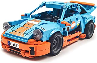 dOvOb Creator Blue Speed Champions Racing Cars Set,Adult Collectible Model,Building Blocks 517 PCS…