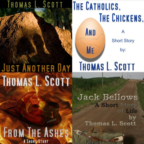 The Short Stories of Thomas L. Scott     Bundled Edition              De :                                                                                                                                 Thomas L. Scott                               Lu par :                                                                                                                                 Jason Sullivan                      Durée : 1 h et 55 min     Pas de notations     Global 0,0