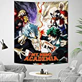 My Hero Academia Tapestry Anime Merchandise Tapestry Wall Hanging for Party Bedroom Decoration Birthday Gift 50x60in