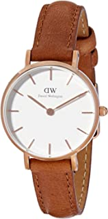 Daniel Wellington Gift Set Classic Petite Durham White Watch Rose Gold 28mm+ Bracelet RG Small
