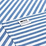 FILU Servietten 8er Pack Blau/Weiß gestreift (Farbe und Design wählbar) 45 x 45 cm – Stoffserviette aus 100% Baumwolle im skandinavischen Landhausstil - 7