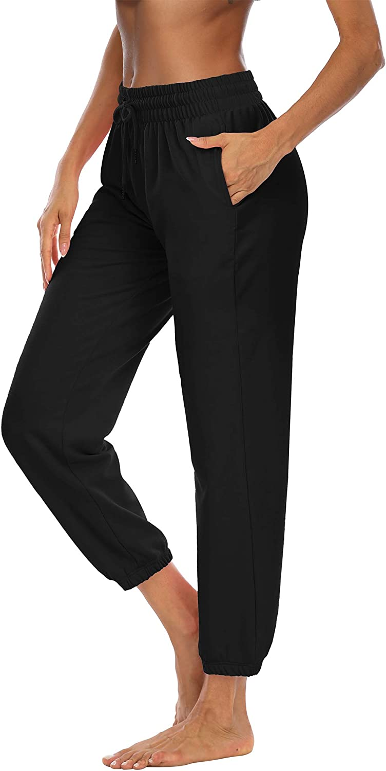 DIBAOLONG Womens Max 77% OFF Yoga Denver Mall Sweatpants with Loose Drawst Pockets Comfy