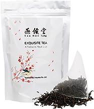 Yan Hou Tang Organic Taiwan Red Jade Oolong Black Tea Bags - 50 Counts Loose Leaf Honey Coffee Flavor Taste Sugar Free Sac...