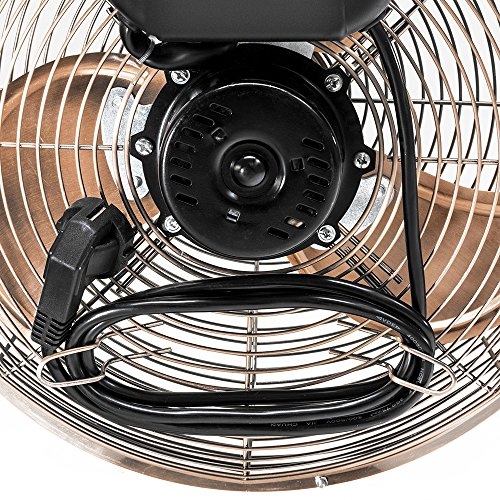 Retro Bodenventilator im Kupfer Design Bild 5*