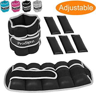 Prodigen Adjustable Ankle Weights Set for Men & Women Ankle Wrist Weight for Walking, Jogging, Gymnastics
