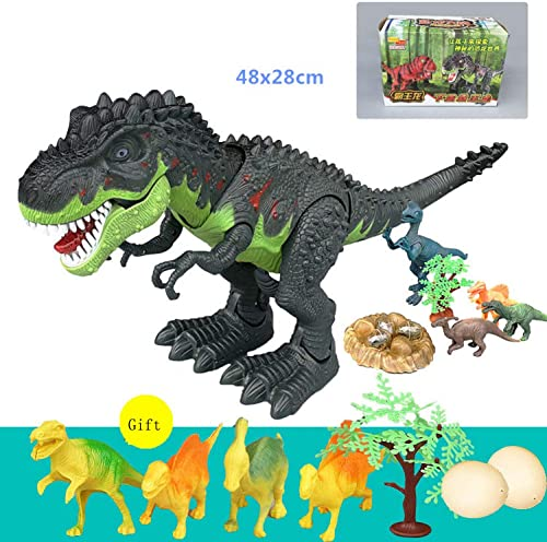 SEJNGF Kinder-Dinosaurier-Spielzeugplastiksimulationstierelektrisches Fernsteuerungsjungengeschenk,E
