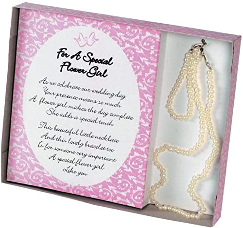 Fun Express Kitchen Plastic Flower Girl Necklace and Bracelet Gift Set