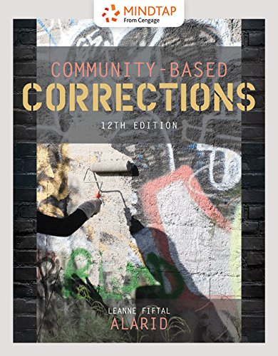MindTap Criminal Justice, 1 term (6 months) Printed Access Card for Alarid's Community-Based Corrections, 12th