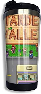 KEEFER Stardew Valley Bus Vacuum Insulated Stainless Steel Tumbler Coffee Travel Mug 13.5oz
