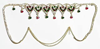 DollsofIndia Crysal Bead and Stone Studded Kamarband - 44.25 inches (LH45)