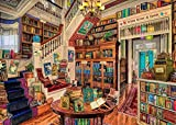 SUGOO Mini Puzzles de 1000 Piezas en Miniatura DIYpara Adultos Estantería de la Biblioteca de cartón Resistente Desafío de Ejercicio Cerebral Juego de Alta dificultad Regalo para Niño 38*26cm