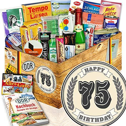 75 Jahre Geburtstag + Geschenke zum 75 Geburtstag Oma + Ossi-Box