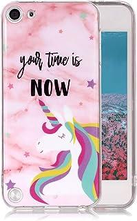 061ee53cbd4 Funda Mármol para iPod Touch 5/6, Ronger Carcasa Gel TPU Silicona Marble Case  Cover Moda de Ciencia Ficción Funda Ultra Fino Flexible con Patrón de  Piedra ...